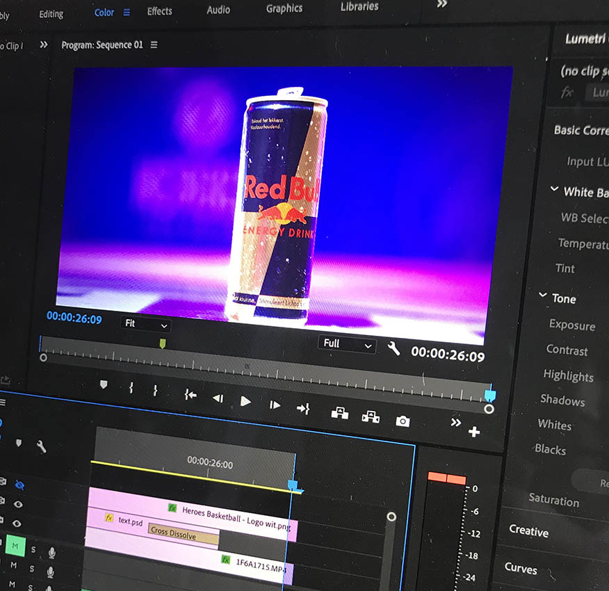 Montage RedBull Commercial Vids